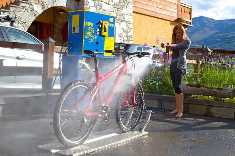 GWD bike wash